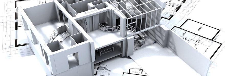 plans d'une maison